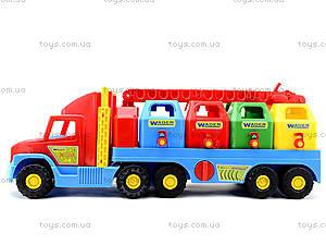 Игрушечный мусоровоз Super Truck, 36530, детские игрушки