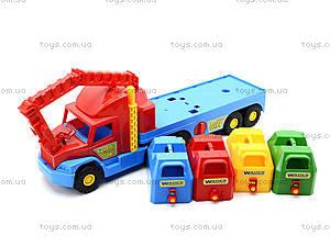Игрушечный мусоровоз Super Truck, 36530, магазин игрушек