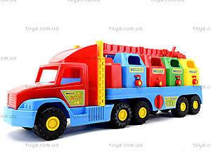 Игрушечный мусоровоз Super Truck, 36530, toys.com.ua