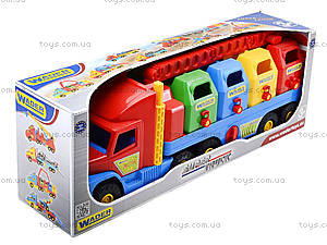 Игрушечный мусоровоз Super Truck, 36530, toys