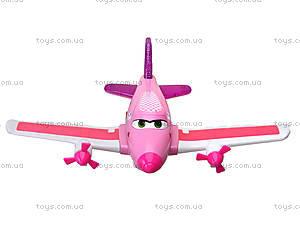 Игрушечный музыкальный самолет «Летачки», 7658-76B, фото