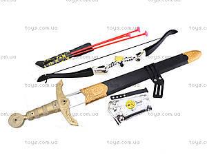 Игрушечный набор «Лук и меч», 6651A, купить