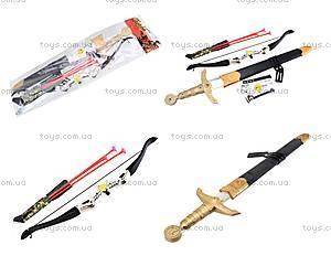 Игрушечный набор «Лук и меч», 6651A
