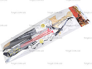 Игрушечный набор «Лук и меч», 6651A, цена