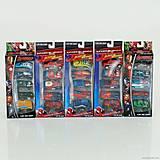 Игрушечный набор машинок «Супергерои», 5136-5666-5, фото
