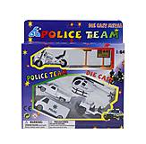 Игрушечный набор «Police Team» мини-транспорт, 201927, купить