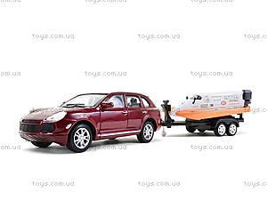 Игрушечный набор Porsche Cayenne Turbo и Power Boat, 39871F-2TB, отзывы
