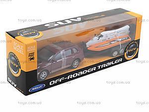Игрушечный набор Porsche Cayenne Turbo и Power Boat, 39871F-2TB, магазин игрушек