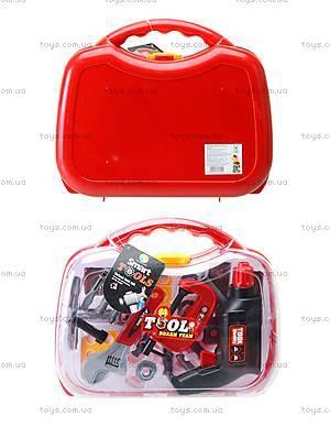 Игрушечный набор инструментов в чемодане, Z00F