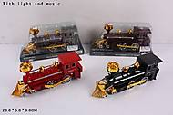 Игрушечный паровоз с музыкой «Ретро», 522-7