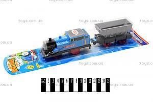 Игрушечный паровозик «Томас», с вагоном, 06054