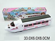 Игрушечный поезд со звуковым эффектом, 329A, фото