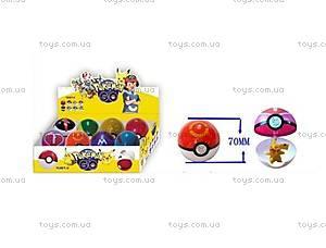 Игрушечный покебол с фигуркой Pokemon GO, BT-PG-0001