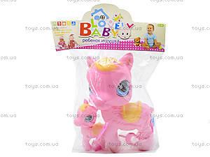 Игрушечный пони с ребенком, 1225, цена
