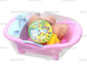 Игрушечный пупс в ванной с игрушками, 2828, фото