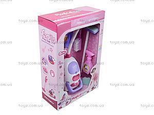 Набор для уборки с игрушечным пылесосом, 5955, купить