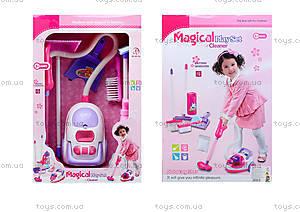 Набор для уборки с игрушечным пылесосом, 5955