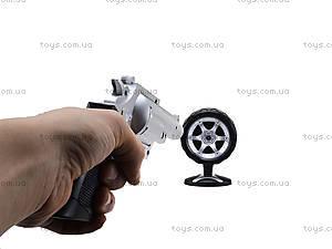Игрушечный пистолет с дартсом, 168-3, купить