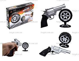 Игрушечный пистолет с дартсом, 168-3