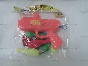 Игрушечный пистолет с летающим диском, 9170-9