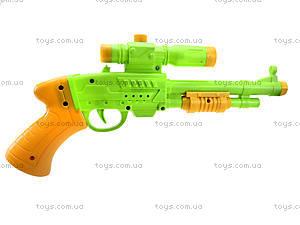 Игрушечный пистолет с присосками, 1138, фото