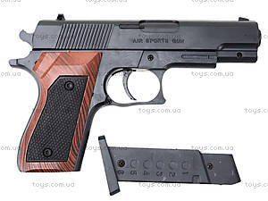 Игрушечный пистолет с пульками для детей, SP-3, фото