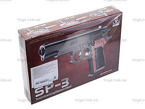 Игрушечный пистолет с пульками для детей, SP-3, цена