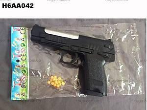 Игрушечный пистолет, с пульками в наборе, P308, купить