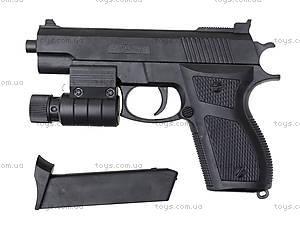 Игрушечный пистолет с пульками и лазером, M-303R?, фото