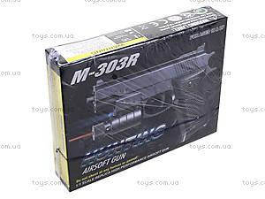 Игрушечный пистолет с пульками и лазером, M-303R?, отзывы