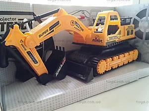 Игрушечный радиоуправляемый трактор, 886-1
