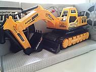 Игрушечный радиоуправляемый трактор, 886-1, фото