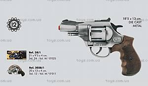 Игрушечный револьвер Police Gonher, 3038/1, купить