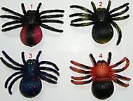 Игрушечный резиновый паук, разные расцветки, H632, отзывы