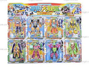 Игрушечный робот-трансформер на планшете, 304-8, игрушки