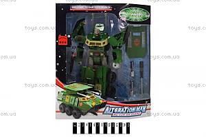Игрушечный робот - трансформер «Танк», 6602D