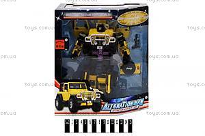Игрушечный «Робот-трансформер» (трансформируется в машину), 5503D