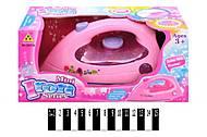 Игрушечный розовый утюг для девочки, 2037A, купить
