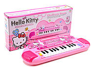 Игрушечный синтезатор Hello Kitty, 901-106, фото