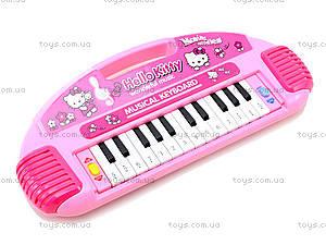 Игрушечный синтезатор Hello Kitty, 901-106, цена