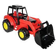 Игрушечный трактор для детей «Мастер», 35301, фото