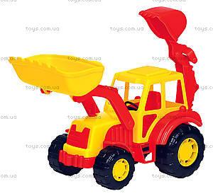 Игрушечный трактор-экскаватор «Алтай», 35394