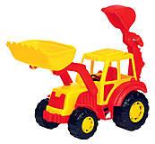 Игрушечный трактор-экскаватор «Алтай», 35394, фото