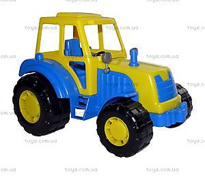 Игрушечный трактор «Мастер», 35240