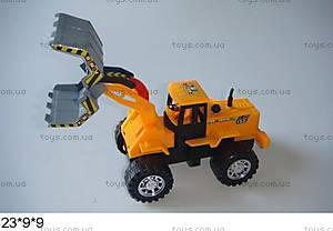 Игрушечный трактор с ковшом «Стройка», 358-1