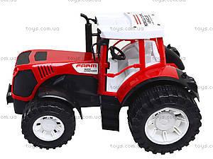 Игрушечный трактор с прицепом для детей, 0488-218, цена