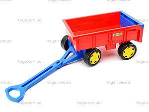 Игрушечный трактор с прицепом «Гигант», 66300, фото