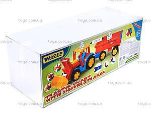 Игрушечный трактор с прицепом «Гигант», 66300, цена