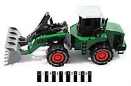 Игрушечный трактор с инерционным механизмом, 7988-14