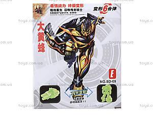 Игрушечный трансформер Super Robots, SD-09, игрушки